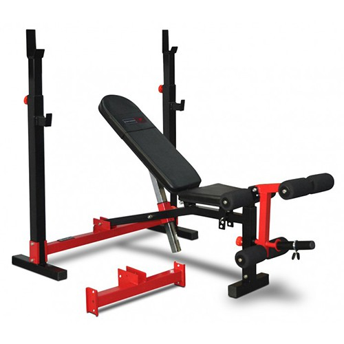 Bodyworx Foldable Olympic Standard Combo weight bench